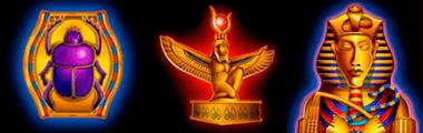 Die Symbol Legende zum Spiel Book of Ra