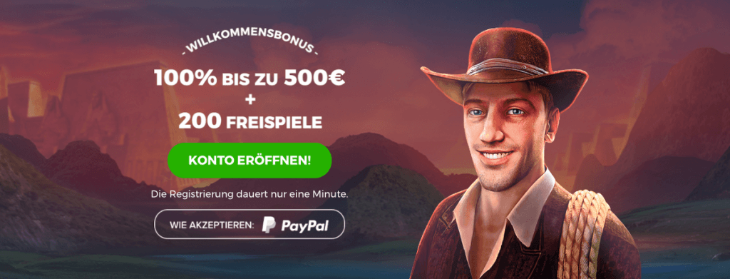 Online Casino Bonus für Book of Ra